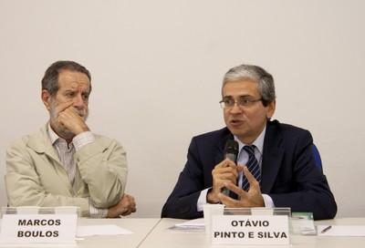 Marcos Boulos e Otávio Pinto e Silva