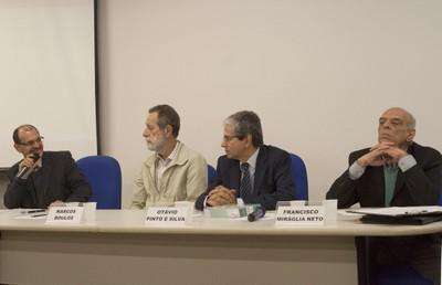 Salvador Ferreira da Silva, Marcos Boulos, Otávio Pinto e Silva e Francisco Miráglia Neto