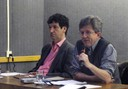 Mário Sérgio Salerno e Roberto Marx