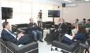 Pedro Dallari, Renato Janine, Bernardo Sorj via video conferência, Massimo Canevacci e Deisy Ventura