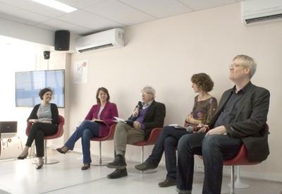 Maria Carmen Lemos, Vanessa Empinnotti, Pedro Jacobi, Lucia de Stefano e Jeroen Warner