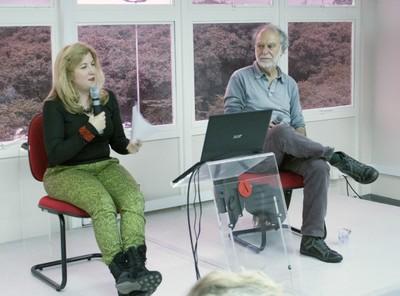 Tatiana Bazzichelli e Massimo Canevacci