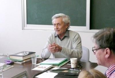 Henoch Gutfreund  ex-reitor da Hebrew University e do IAS-HU