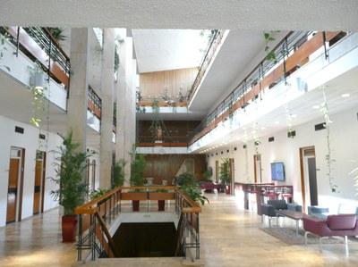 Interior do edifício do IAS de Israel