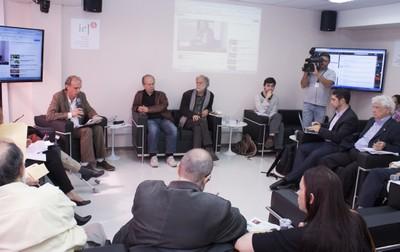 Martin Grossmann, Renato Janine Ribeiro e Massimo Canevacci