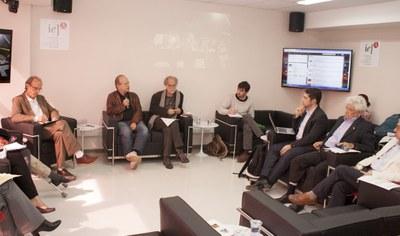 Martin Grossmann, Renato Janine e Massimo Canevacci