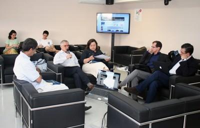 Fernando Limongi, José Álvaro Moisés, Rachel Meneguello, Marcus André Melo e Carlos Melo