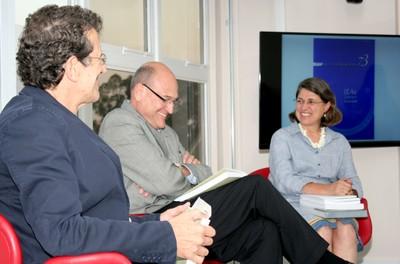 Carlos Augusto Monteiro, José Filippi Jr e Ana Lydia Sawaya