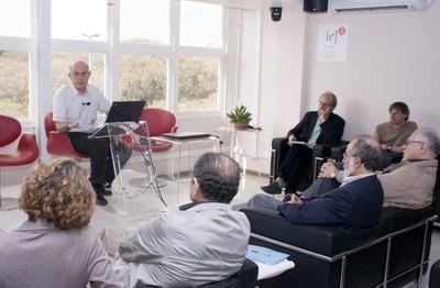 Eliezer Rabinovici, Martin Grossmann, Nathan Berkovits, Bernardo Sorj, Guilherme Ary Plonski, Mahyr Saleh Hussein e Arlene Clemesha