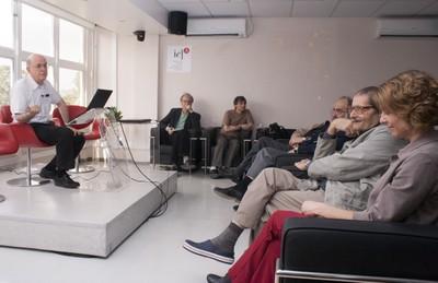 Eliezer Rabinovici, Martin Grossmann, Nathan Berkovits, Guilherme Ary Plonski, Mahyr Saleh Hussein e Arlene Clemesha