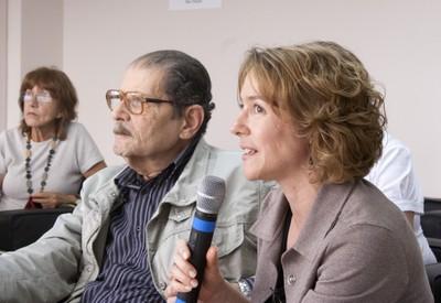Mahir Saleh Hussein e Arlene Clemesha