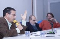 Cícero Araújo, Leopoldo Warizbort, Sérgio Adorno e Yves de La Taille