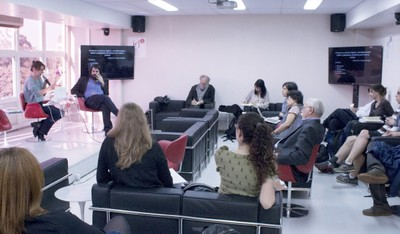 Marilia Mello Pisani faz a abertura do evento