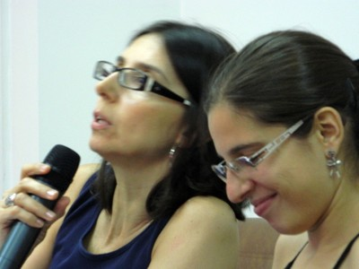 Ana Paula Soares Silva e Nicole Nothen de Oliveira