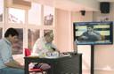 Rodolfo Puttini, Maurício de Carvalho Ramos e Nicolas Lechopier via vídeo-conferência