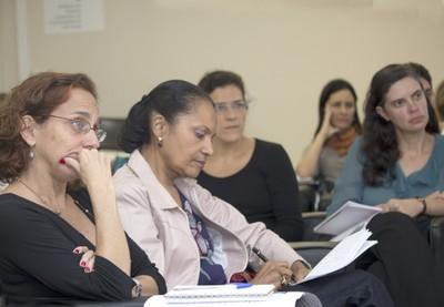 Sylvia Duarte Dantas, Ligia Fonseca Ferreira e Adriana Capuano de Oliveira
