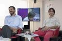 Gustavo Tosello Pinheiro e João Andrade, debatedores do evento