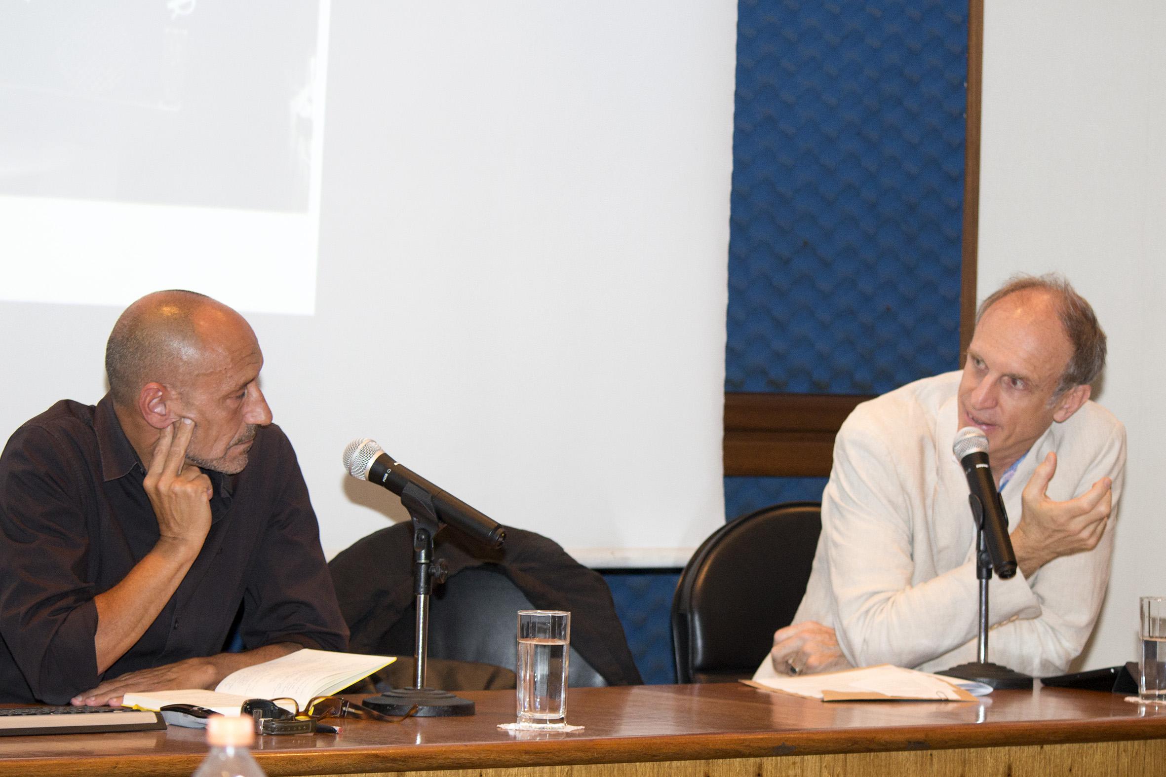 Martí Peran e Martin Grossmann
