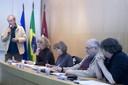 Martin Grossmann, Vera da Silva Telles, Maria Alice Rezende de Carvalho, Bernardo Sorj e Danilo Martuccelli