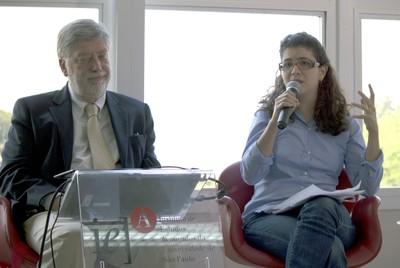 Claudio Cohen e Maya Mitre