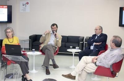 Neli Aparecida de Mello-Téry, Agustín Espinosa, Nuno Marques da Costa e Carlos Sixirei Paredes