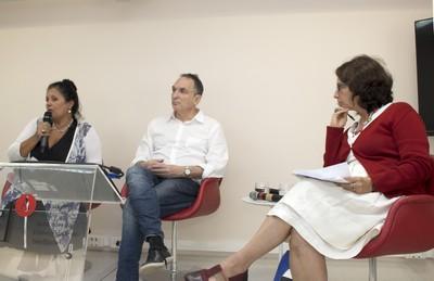 Sueli Angelo Furlam, Fabio Feldmann e Ana Lanna