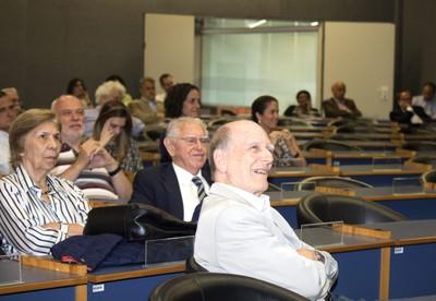 Gerhard Malnic, Yvonne Primerano Mascarenhas e Eduardo Moacyr Krieger