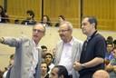 Martin Grossmann, Jacob Palis e Edson de Faria