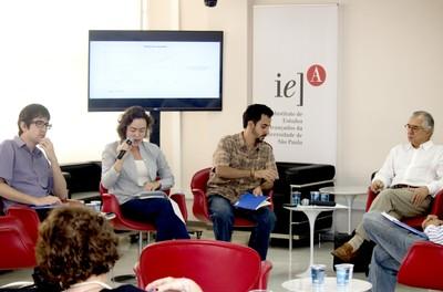 Sérgio Simoni Jr, Beatriz Sanches, Rafael Moreira Dardaque Mucinhato e José Álvaro Moisés