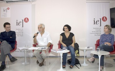 Marcio Selligmann-Silva, José Sérgio Carvalho, Janaína de Almeida Teles e Katia Neves