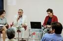 Lourdes Sola, José Álvaro Moisés e Helen Milner