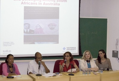 Ligia Fonseca Ferreira, Christopher Sonn, Sylvia Dantas, Maura Pardini Bicudo Véras e Adriana Capuano de Oliveira