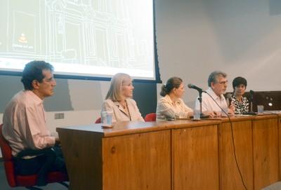 Carlos Augusto Monteiro, Denise Costa Coitinho, Ana Lydia Sawaya, Victor Wunsch Filho e Semíramis Martins Álvares Domene