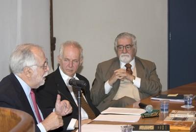 Carlos Guilherme Mota, Francisco Javier Garciadiego Dantán, Jorge Schwartz e Celso Lafer