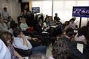Participação do público presente no evento