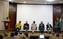 Inês Soares, Geovaldo José de Jesus (Gejo), André Bueno, Rossana Rocha Reis, Pedro Barbosa Pereira Neto e Sérgio Adorno