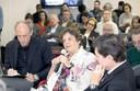 Martin Grossmann, Elizabeth Balbachevsky e José Eduardo Krieger