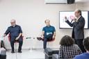 Luiz Eduardo Soares, Renato Janine Ribeiro e Martin Grossmann