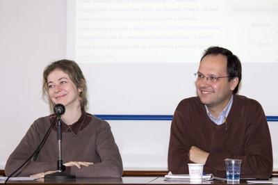 Bibiana Graeff e Eduardo Caldas
