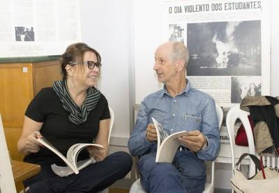 Renata Barros e Horst Hoheisel