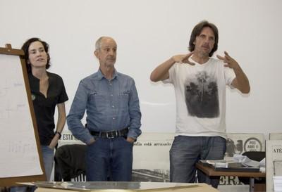 Priscila Molina, Horst Hoheisel e Andreas Knitz