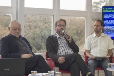 Bernardo Sorj, Márcio Bobik Braga e Fabio Santos