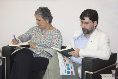 Rosa Maria Mancini e Samuel Roiphe Barrêto