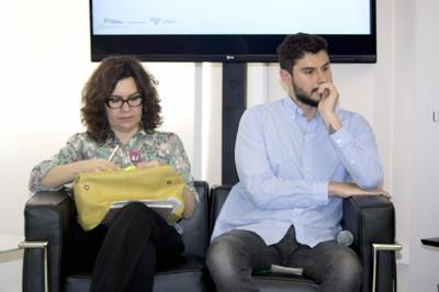 Janice Kiss e Guilherme Checco