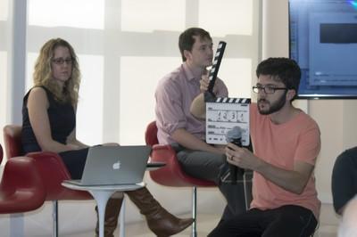 Nikki Moore, David Gange e João Alberto Menna Barreto