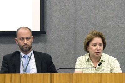 Eduardo Mario Mediondo e Stela Goldstein