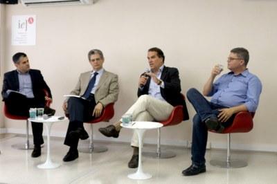Tomas Alvim, Silvio Barros, Luiz Firmino Pereira e Lauro Pinotti