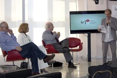 Bernardo Sorj, Lia Zanotta, Francisco Zapata e Martin Grossmann