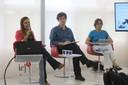 Hérica Dias, Mario Salerno e Mônica Teixeira