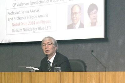 Conferência de Hideyo Kunieda - 21 de abril de 2015